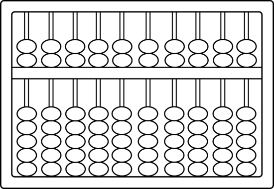 Abacus Coloring Page