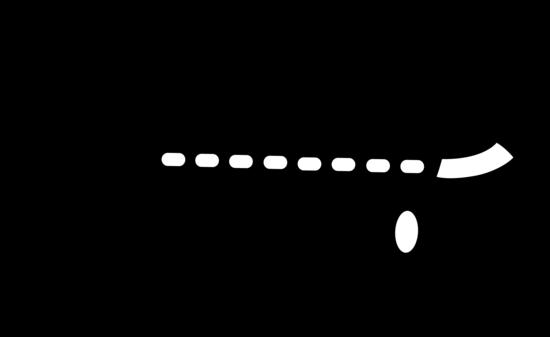 Passenger Airplane Silhouette