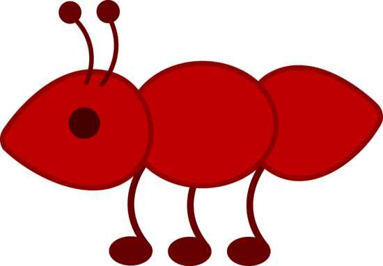 Cute Red Ant