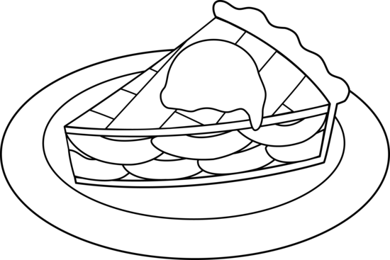 Apple Pie Line Art