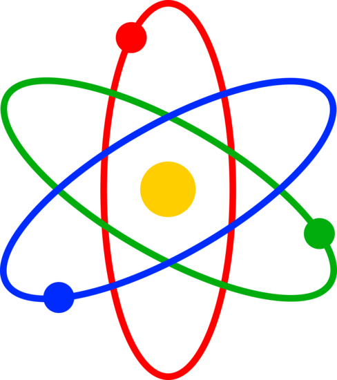 Colorful Atom Design