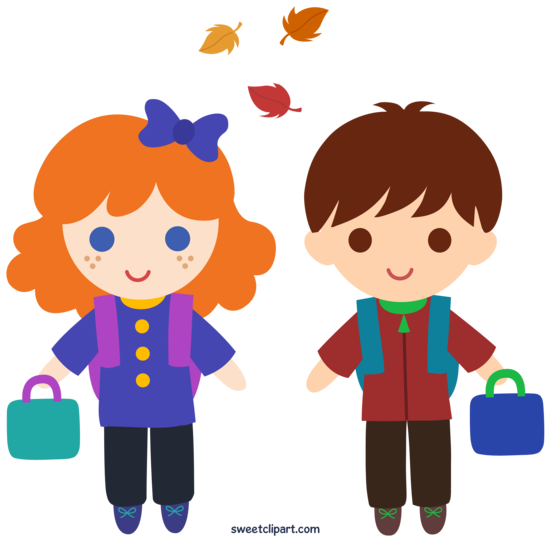 Back to School Autumn Kids
