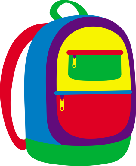 Kids Knapsack Vector Design
