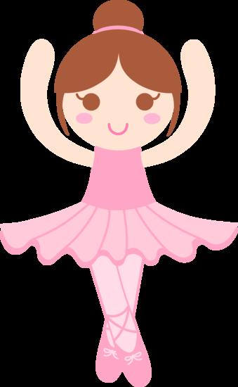 Cute Ballerina Clip Art