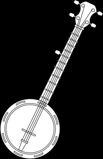 Banjo Coloring Page