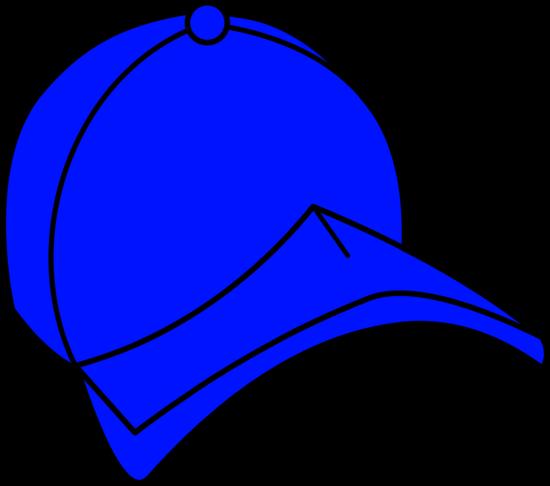 Blue Baseball Cap Clip Art
