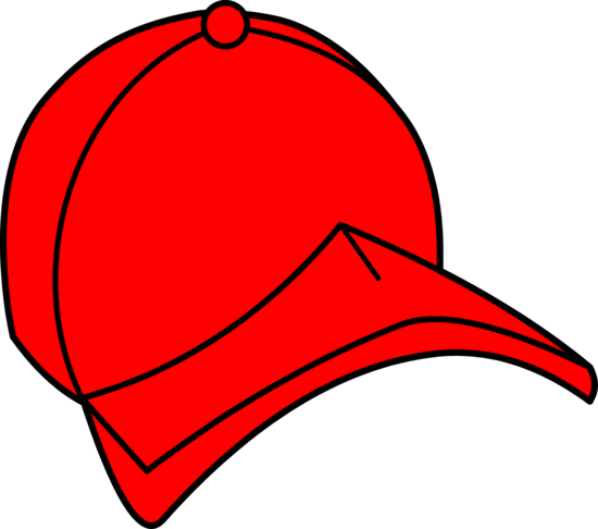 Red Baseball Cap Clip Art