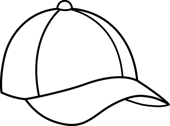 Free Coloring Pages Of Ball Cap