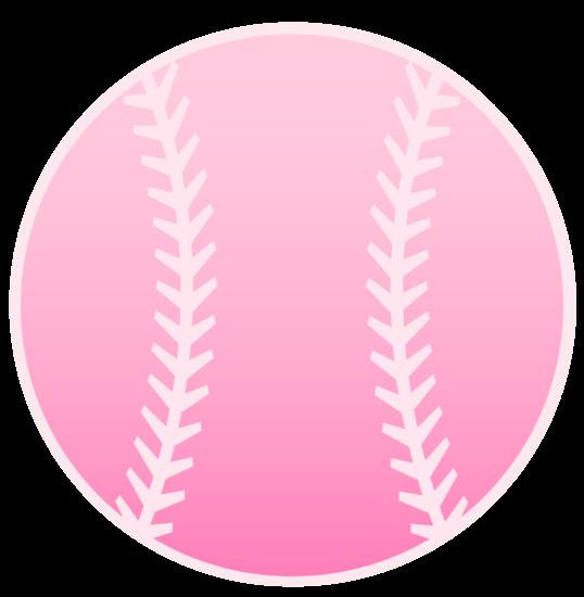 Pink Sports Baseball