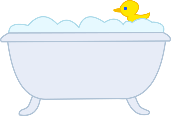 Bubble Bath With Rubber Ducky