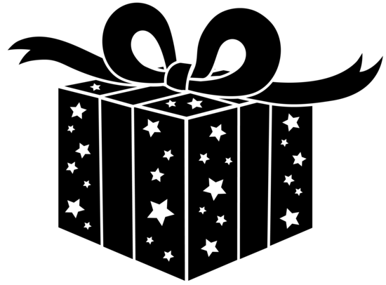Black Birthday or Christmas Present