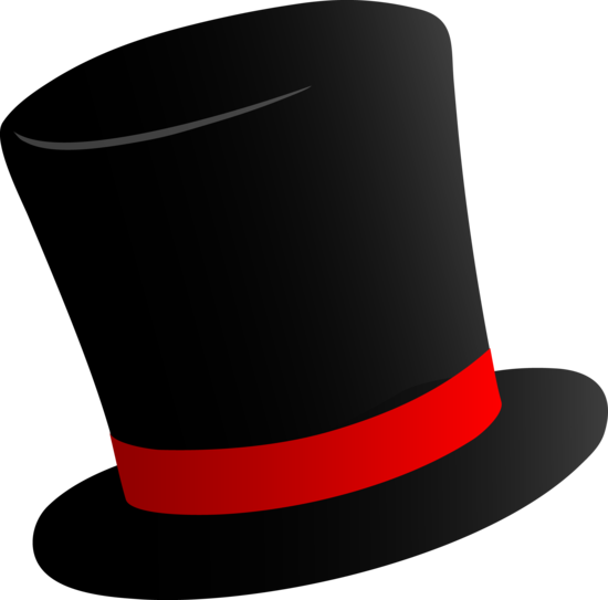 Magicians Black Top Hat