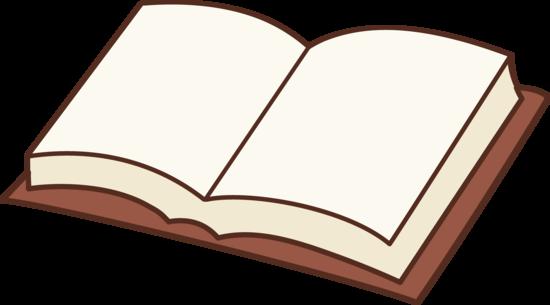 Open Book Clip Art Design