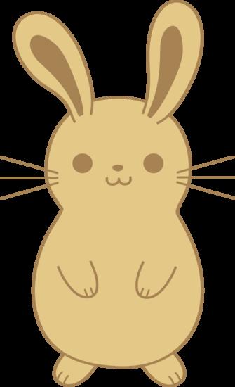Cute Light Brown Rabbit