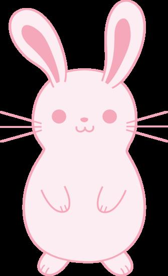 Cute Pink Bunny Rabbit