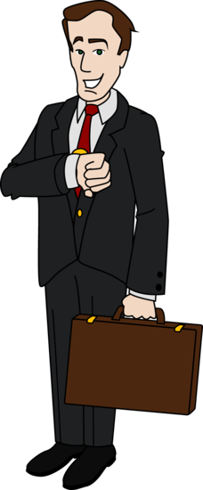 Businessman Clipart Design