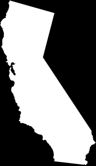 california line art - free clip art