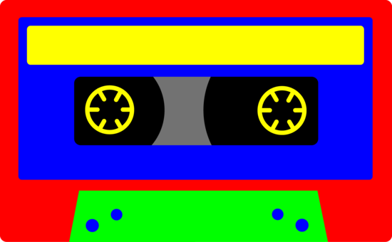 Colorful Kids Cassette Tape