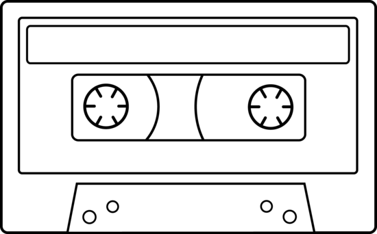 Colorable Cassette Tape