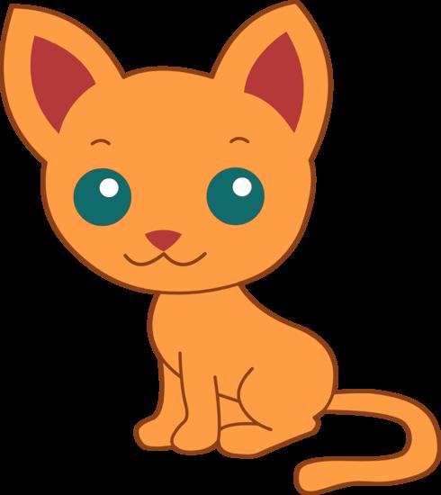Cute Orange Kitty Cat