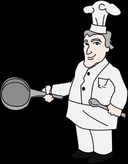 Chef Clipart Illustration