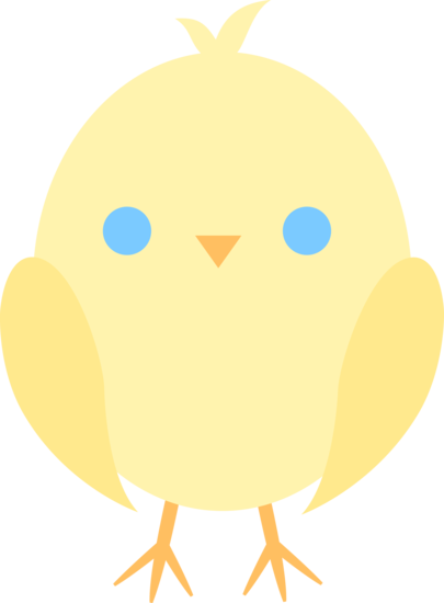 Little Yellow Baby Chick