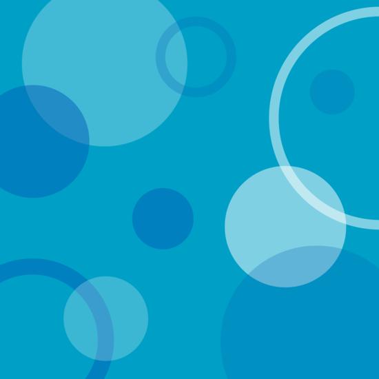 Blue Circle Background Design