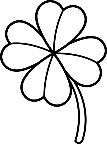 Four Leaf Clover Clipart | quotes.lol-rofl.com