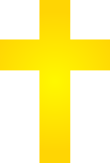 Gold Cross Logo Design