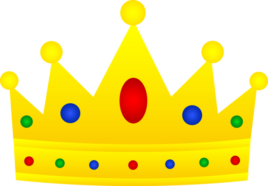 Golden Crown With Jewels