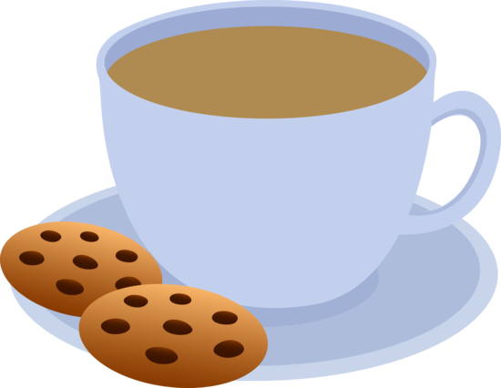 Two Cookies and a Cup of Coffee