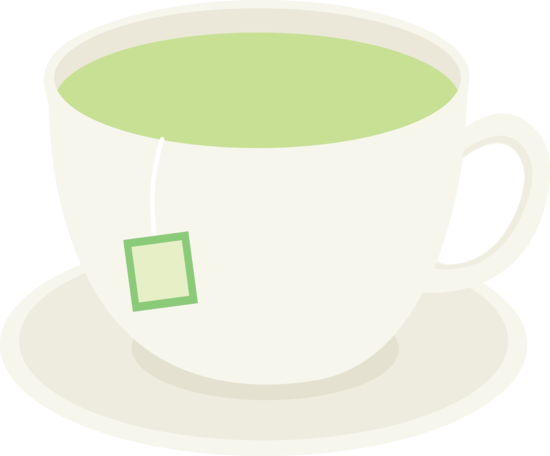Green Tea Vector Clip Art