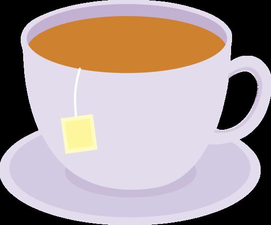 Tea With Teabag on Dish