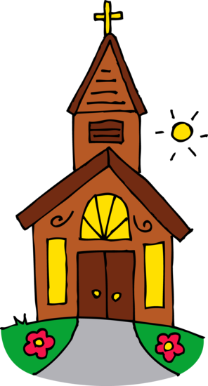 Cute Church Building Clip Art