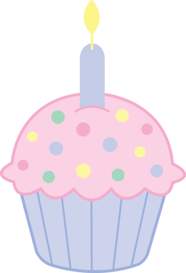 cute pink birthday cupcake free clip art rh sweetclipart com clipart of birthday cupcakes clip art of pancakes