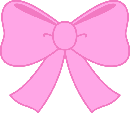 Cute Pink Bow Clipart