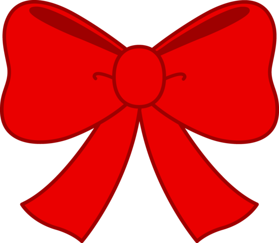 Cute Red Bow Clipart