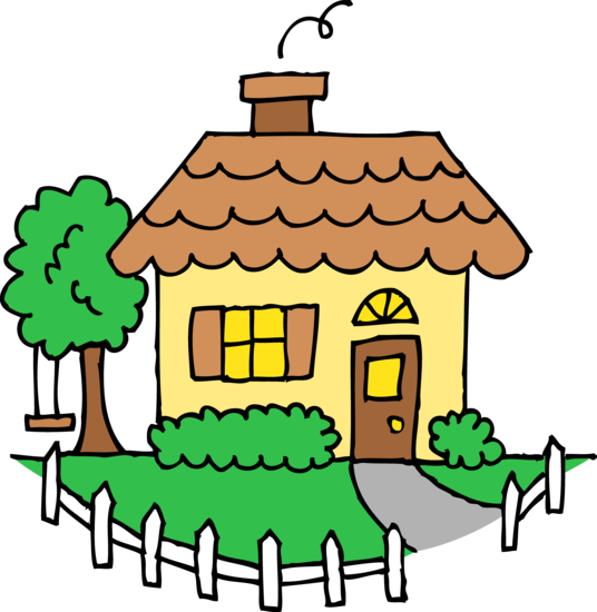 little yellow house clipart free clip art rh sweetclipart com home clip art images free home clipart black and white