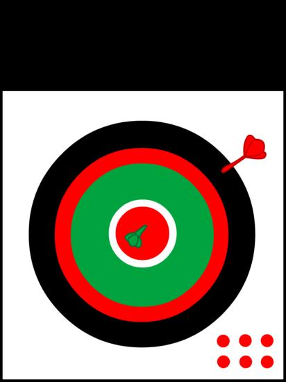 Dartboard Clip Art Design