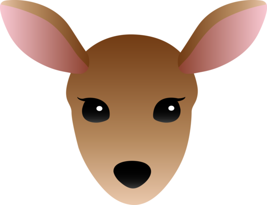 Simple Female Deer Design