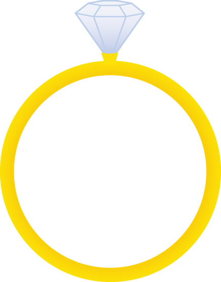 clipart of a diamond ring-#11