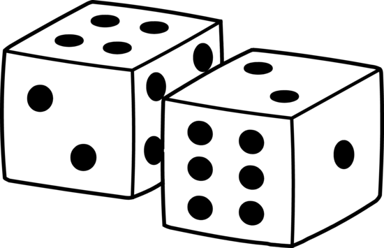 Simple Playing Dice Design