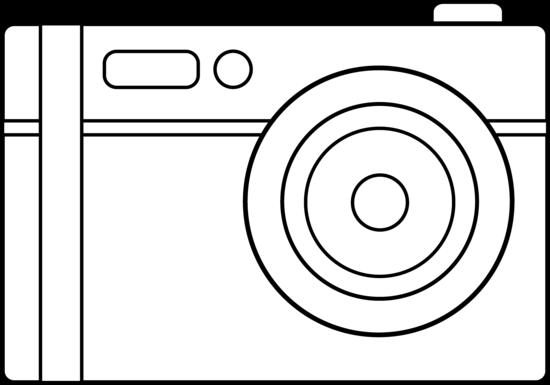 Digital Camera Line Art