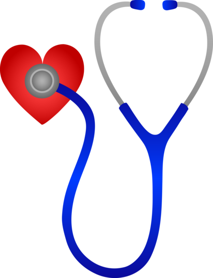 Doctors Medical Stethoscope With Heart