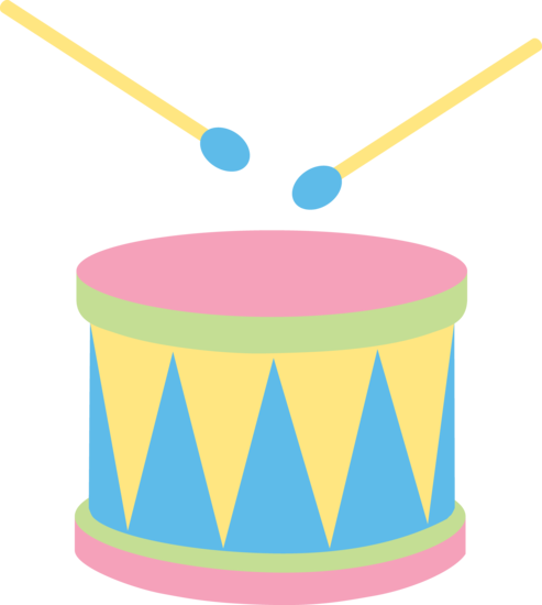 Cute Pastel Drum