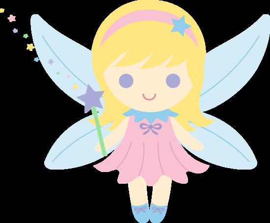 Cute Fairy With Blonde Hair