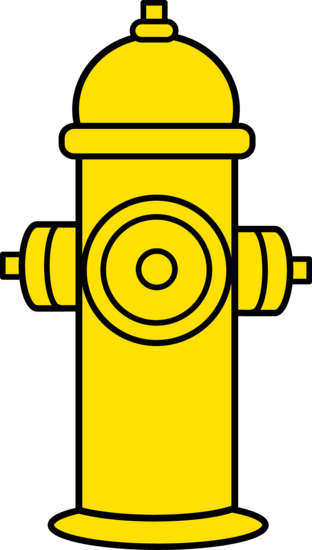 Yellow Fire Hydrant Clipart