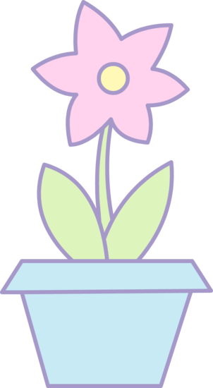 clipart flower in pot - photo #18