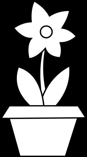 Flower Pot Coloring Page Free Clip Art Clipart Best Clipart Best Printable Flower Coloring Pages Flower Printable Flower Coloring Pages