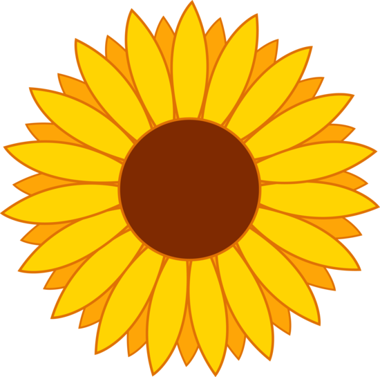 Simple Yellow Sunflower